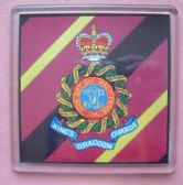 1st KING'S DRAGOON GUARDS LARGE ACRYLIC COASTER